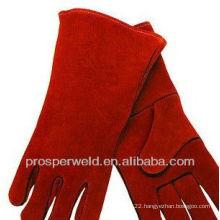 Cow Split Welding Leather Gloves
