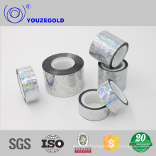 aluminium polyester ally tape for flexible duct With ISO9001 certificates