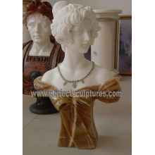 Carving Stone Statue Marble Sculpture Head Bust for Decoration (SY-S313)