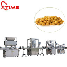 Automatic popcorn/cashew nut/potato chips packing machine plastic can filling sealing packaging machine factory price