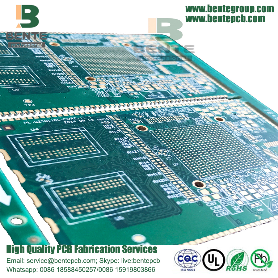 Halfgat High Precision Multilayer PCB Impedance Control