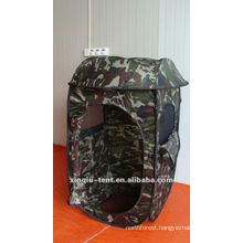 Outdoor camouflage hunting tent
