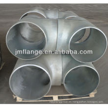Acero al carbono galvanizado sch160 tubo de ajuste Tee