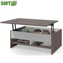 2018 nova mesa de café moderna pode levantar mesa de café de madeira sala de estar