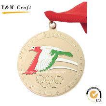 Ouro Metal Personalizar Medalha De Desporto Barato Ym1170