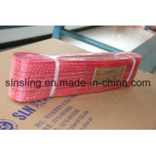 100% polyester 5t haute sangle sangle