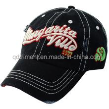 Heavy lavado bordado de algodón de golf Cap Hat (TMB0338)