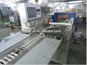 Automatic high speed L bar shrink wrap machine