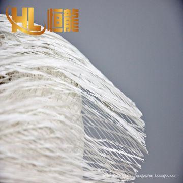 2017 alta qualidade de fios torcidos pp, fio de enchimento fibrilado pp
