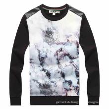 OEM Männer Langarm Sublimation Druck T-Shirt