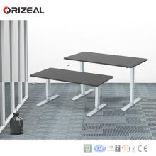 hand crank lift table Manual height adjustable desk Base Prices cut in half