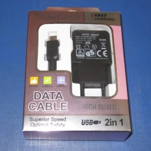 Us Plug 5V1a USB Ladegerät mit jedem PC in einem 4c Window Box
