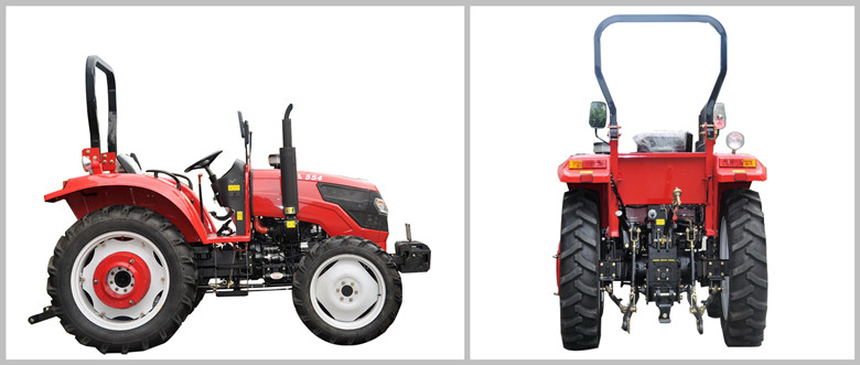Low Price 4 Wheel  Paddy Tractor