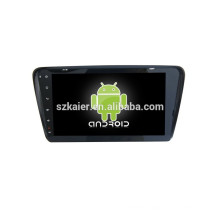 HOT!car dvd player with mirror link/DVR/TPMS/OBD2 for 10.1 inch full touch screen 4.4 Android system VW SKODA OCTAVIA