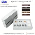 Medical Safe Micro Pigment Kits para Micropigmentación