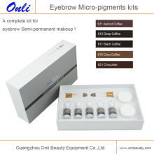 Augenbrauen Mikro-Pigmente Kits Permanent Make-up Ink Micro Pigment