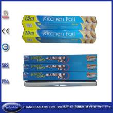 37,5 Sqft Haushalt Aluminiumfolie Rolle für Lebensmittelverpackungen