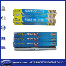Newest Design Roll Type Aluminium Cooking Foil