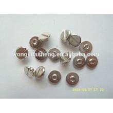 Tornillos de metal de cabeza panorámica de precio competitivo de calidad superior