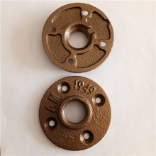 1/2'' brass malleable iron floor flange
