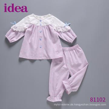 81102 Neue Frühlings Mädchen Kleidung Set Baby Pyjamas