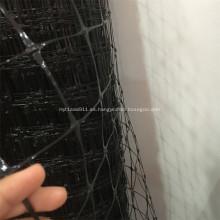 Malla de valla PP negra