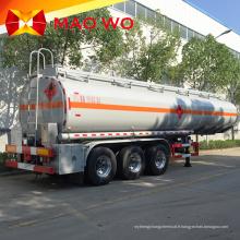 Semi-remorque à réservoir de carburant à 3 essieux 42000L