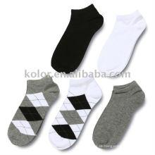 Meias de algodão com tornozelo