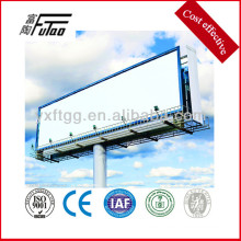 galvanized steel pole with banner pole