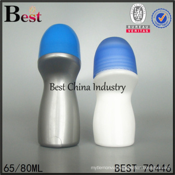 cheap price cosmetic roll on decoration plastic bottle wholesale