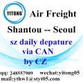 Shantou Air Freight Logistics Company to Seoul