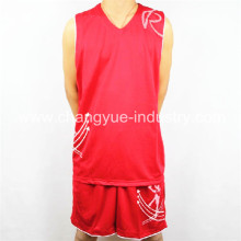 professionelles Design Sport Basketball Trikot und shorts