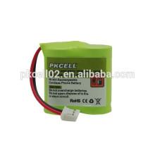Batería de 2.4V NI-MH AAA batería inalámbrica para teléfono