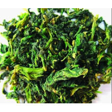 Dehydrated Spinach with High Quality