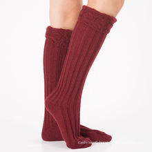 OEM Manufacturer Direct Supply Lowest Price Women Polyester Cotton Yarn Socks