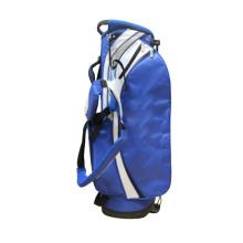 Sac de support de golf en nylon bleu