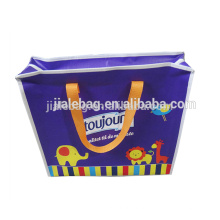 Sedex Audit the most promotional eco-friendly pp woven zipper shopping bag
