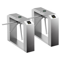 Keamanan Data Entry Gate Tripod Turnstile Barriers