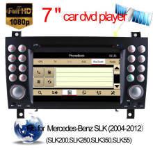 Special Car DVD GPS for Mercedes-Benz Slk-W171 Navigation with Bluetooth/Radio/RDS/TV/Can Bus/USB/iPod/HD Touchscreen Function (HL-8801GB)