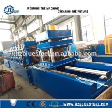 Machine de formage de rouleaux de feuille de barrage standard de route standard européenne W Ligne de production de faisceau avec coupe continue