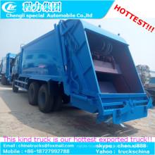 VIP oferta proveedor chino 18cbm 15 toneladas precio de camiones de compresión