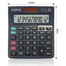 EATES Wholesale TAX function Small size 12 digit  desktop calculator