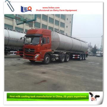 Reboque de tanque de leite de alta tecnologia
