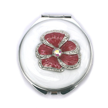 Red Poppy  Compact Mirrors