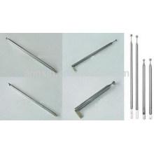 Date télescopique d'antenne de poteau d'acier inoxydable de vente chaude