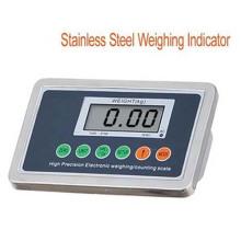 Indicateur en acier inoxydable et indicateur de pesée
