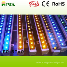 18W impermeável LED Wall Washer luz com cor RGB