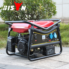 BISON China Taizhou 5KW AC DE Drei Phase 400V behandelt Benzin-Generator