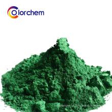 Pigmento verde de óxido de ferro para Concret