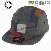 Moda mais novo chapéu colorido Camo Camper Cap com logotipo personalizado